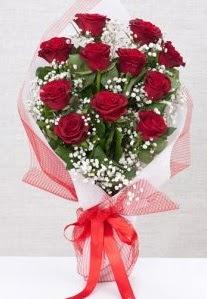 11 kırmızı gülden buket çiçeği  Çankırı hediye çiçek yolla