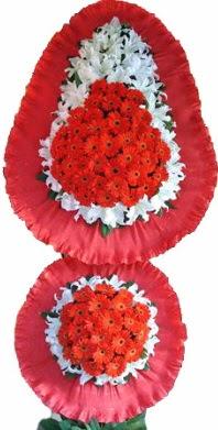 Çankırı çiçekçi telefonları  Çift katlı kaliteli düğün açılış sepeti