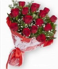 11 adet kırmızı gül buketi  Çankırı çiçek , çiçekçi , çiçekçilik