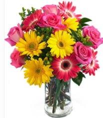 Vazoda Karışık mevsim çiçeği  Çankırı online çiçekçi , çiçek siparişi