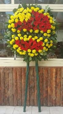 Cenaze çelengi çiçek modeli  Çankırı internetten çiçek siparişi