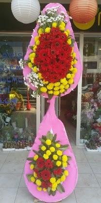 Çift katlı düğün nikah açılış çiçek modeli  Çankırı çiçek gönderme sitemiz güvenlidir