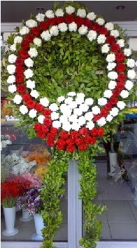 Cenaze çelenk çiçeği modeli  Çankırı çiçekçi mağazası