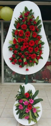 Çift katlı düğün nikah açılış çiçek modeli  Çankırı çiçek yolla