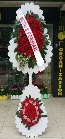 Çift katlı düğün nikah çiçeği modeli  Çankırı çiçek yolla , çiçek gönder , çiçekçi