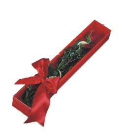 Çankırı internetten çiçek satışı  tek kutu gül sade ve sik