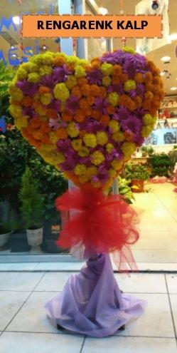 Ankara mevsim çiçeklerinden kalp perförje  Çankırı çiçek servisi , çiçekçi adresleri