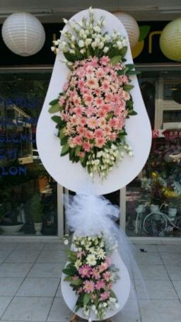Çift katlı özel şahane sepet çiçeği  Çankırı çiçek servisi , çiçekçi adresleri