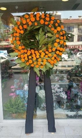 Cenaze çiçeği cenaze çelengi çiçek modeli  Çankırı çiçek online çiçek siparişi