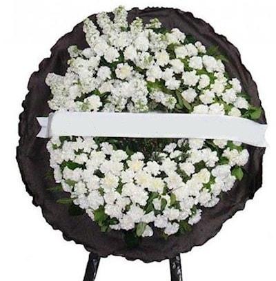 Cenaze çelengi çiçeği modelleri  Çankırı İnternetten çiçek siparişi