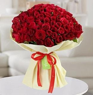 101 adet kırmızı gül buketi koca demet  Çankırı çiçek yolla