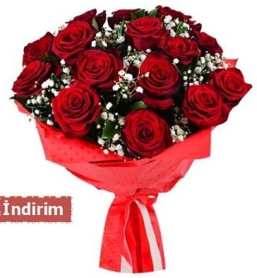 12 Adet kırmızı aşk gülleri  Çankırı çiçek mağazası , çiçekçi adresleri