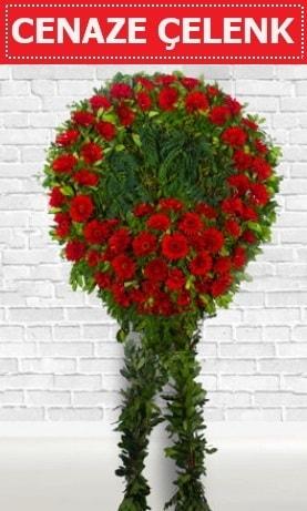 Kırmızı Çelenk Cenaze çiçeği  Çankırı 14 şubat sevgililer günü çiçek