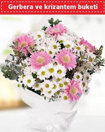 Papatya ve Gerbera Buketi  Çankırı kaliteli taze ve ucuz çiçekler