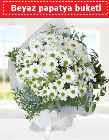 Beyaz Papatya Buketi  Çankırı hediye çiçek yolla